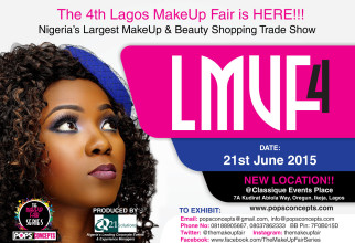 Nigeria's Largest MakeUp & Beauty Shopping Trade Show is Here!!!