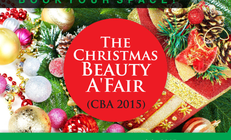 exhibit at the christmas beauty afair cba2015 6th december 2015 - Christmas Holiday 2015