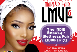 Attend The 6th Lagos MakeUp Fair + INDIE Beauty & Wellness Fair 17 – 18 June 2017