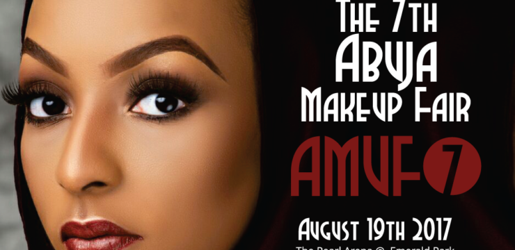 Few Spaces left – The 7th Abuja MakeUp Fair (AMUF7)