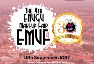 Enjoy a 30% Exhibition Discount  : The 4th Enugu MakeUp Fair (EMUF4)