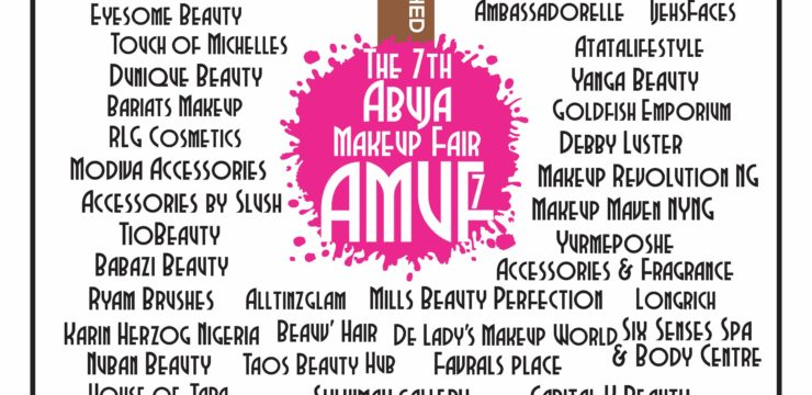 The 7th Abuja MakeUp Fair (AMUF7) Exhibitors