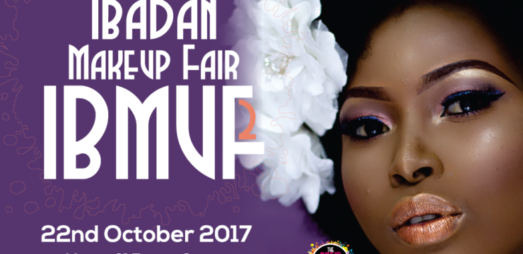 Book Your Space – The 2nd Ibadan MakeUp Fair (IBMUF2)