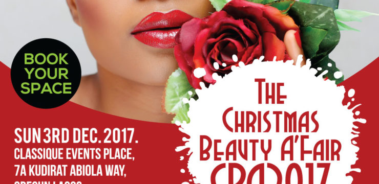 Book Your Space – The Christmas Beauty A'Fair 2017 (CBA2017)